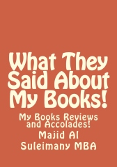 What They Said About My Books! (1/3)